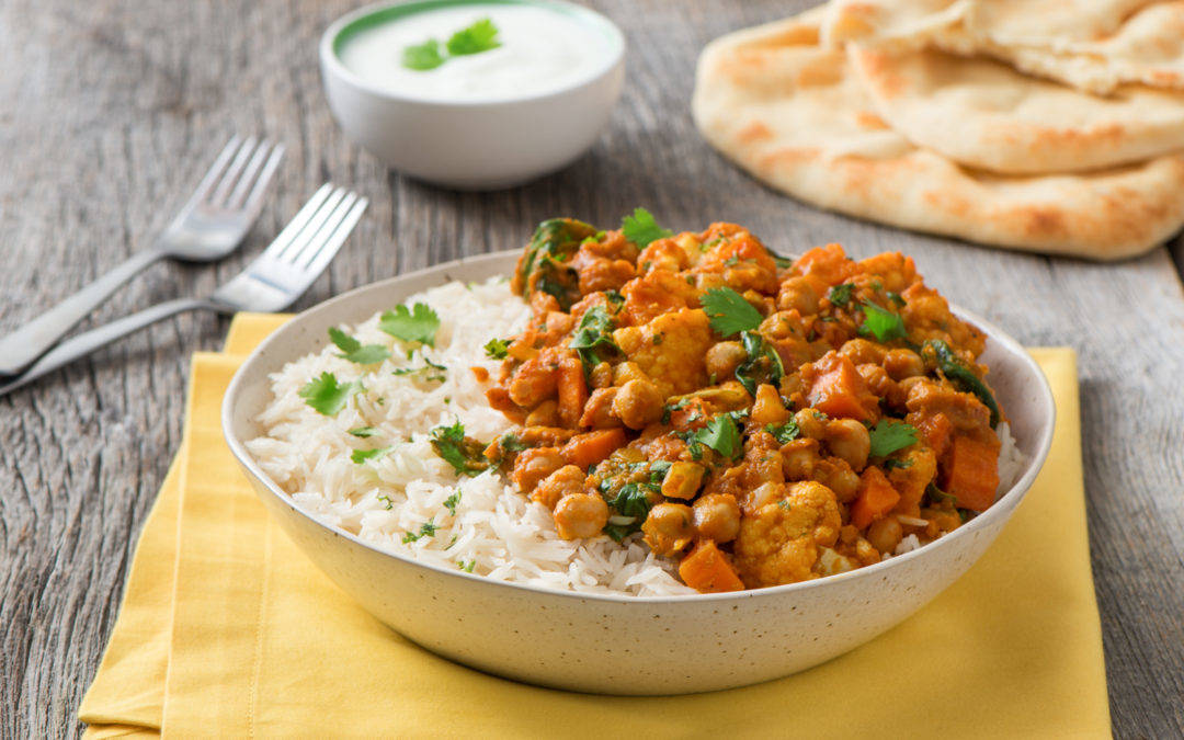 Slow Cooker Creamy Chickpea Curry