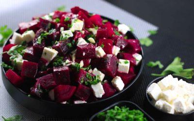 Walnut & Feta Beet Salad