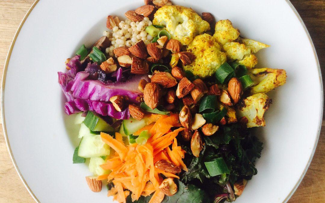 Thai Cauliflower Rice Bowl