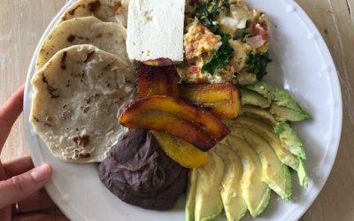 Guatemalan Tipico Breakfast